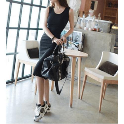 basic kolsuz elbise
