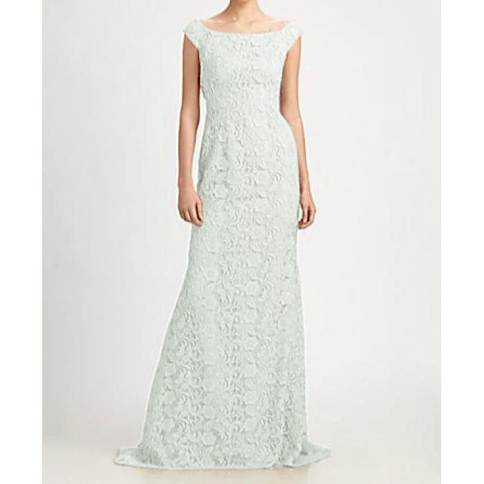 dantel kolsuz kuyruklu abiye elbise