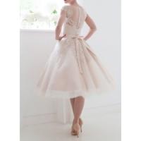 kısa gelinlik nikah elbisesi