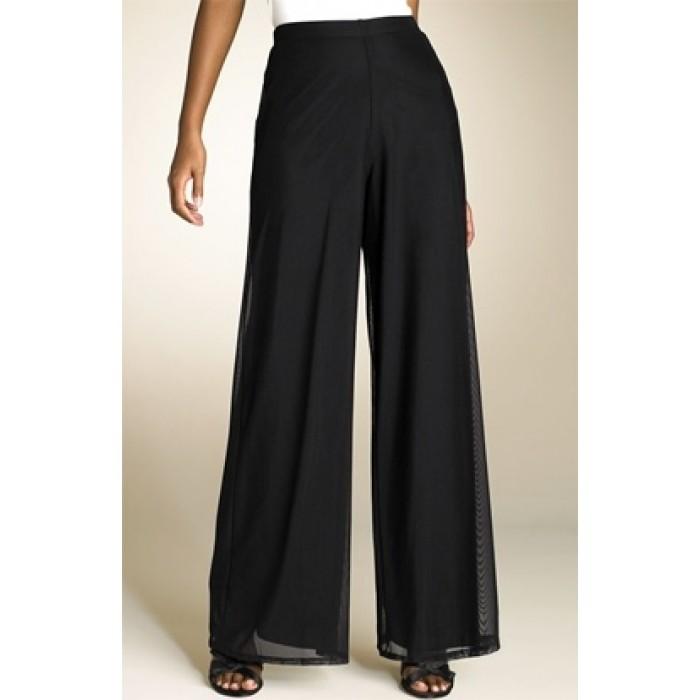tül detaylı pantolon
